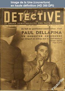 QUI DETECTIVE numéro 190 du 20 février 1950