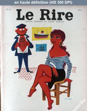LE RIRE  numéro 53 du 01 février 1956