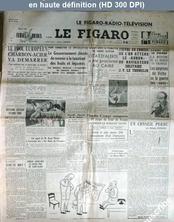LE FIGARO  numéro 2433 du 05 juillet 1952