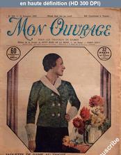 MON OUVRAGE numéro 258 du 15 novembre 1933