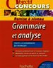 Objectif Concours Grammaire et analyse
