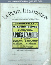 LA PETITE ILLUSTRATION THEATRE  numéro 197 du 07 juin 1924