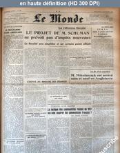 LE MONDE   numéro 862 du 05 novembre 1947
