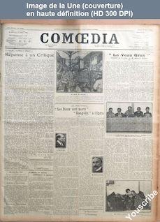 COMOEDIA numéro 4108 du 17 mars 1924