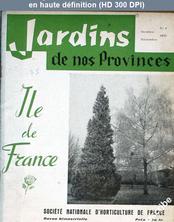 JARDIN DE NOS PROVINCES numéro 4 du 01 octobre 1957