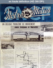 NOTRE METIER LA VIE DU RAIL numéro 63 du 14 juin 1946