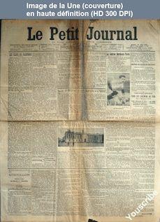 LE PETIT JOURNAL  numéro 15845 du 15 mai 1906