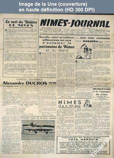 NIMES JOURNAL numéro 51 du 13 décembre 1958