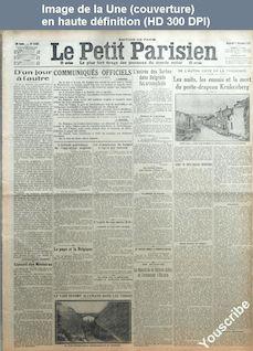 LE PETIT PARISIEN  numéro 13927 du 16 décembre 1914