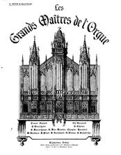 Partition choral-Marche, Messe de la Pentecote, Paladilhe, Émile