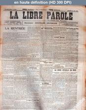 LA LIBRE PAROLE  numéro 5510 du 22 mai 1907