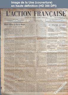 L' ACTION FRANCAISE  numéro 133 du 12 mai 1916