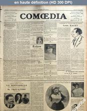 COMOEDIA numéro 544 du 27 mars 1909