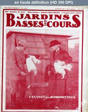 JARDINS ET BASSES COURS numéro 413 du 05 septembre 1931