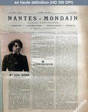 NANTES MONDAIN numéro 28 du 12 avril 1902
