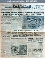 L' EQUIPE  numéro 2604 du 21 août 1954