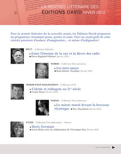Éditions david Hiver 2012