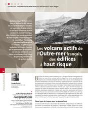 Les volcans actifs de l'Outre-mer français, des édifices à haut risque