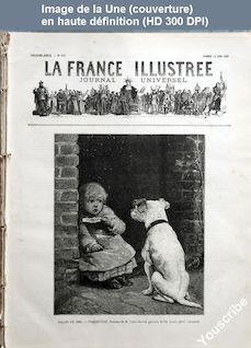 LA FRANCE ILLUSTREE  numéro 603 du 19 juin 1886