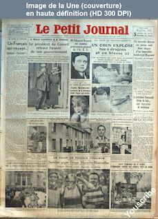LE PETIT JOURNAL  numéro 26116 du 18 juillet 1934