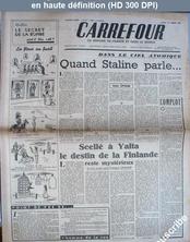 CARREFOUR numéro 79 du 21 février 1946
