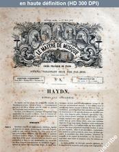 LE MAITRE DE MUSIQUE  numéro 9 du 01 mai 1876