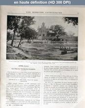 LES MISSIONS CATHOLIQUES  numéro 1862 du 10 février 1905