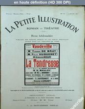 LA PETITE ILLUSTRATION THEATRE  numéro 55 du 09 juillet 1921
