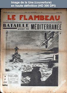 LE FLAMBEAU  numéro 13 du 08 juin 1941