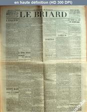 LE BRIARD  numéro 61 du 10 août 1910