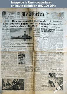 LE MATIN  numéro 21084 du 28 janvier 1942