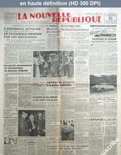 LA NOUVELLE REPUBLIQUE  numéro 646 du 01 octobre 1946