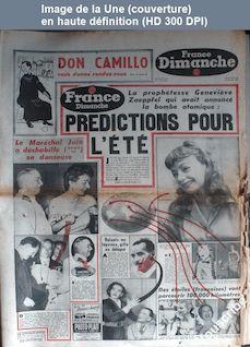 FRANCE DIMANCHE numéro 352 du 24 mai 1953