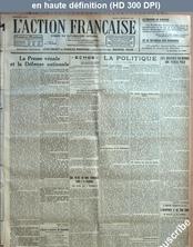 L' ACTION FRANCAISE  numéro 248 du 05 septembre 1922