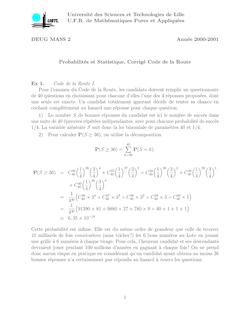 Université des Sciences et Technologies de Lille U F R de Mathématiques Pures et Appliquées
