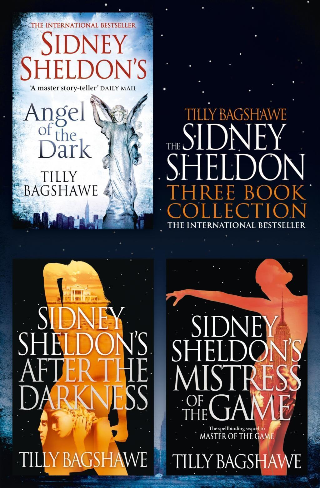 Sidney Sheldon & Tilly Bagshawe 3-Book Collection: After the Darkness, Mistress of the Game, Angel of the Dark