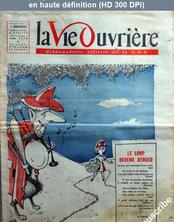 LA VIE OUVRIERE  numéro 719 du 11 juin 1958