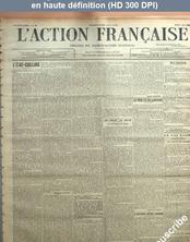 L' ACTION FRANCAISE  numéro 127 du 07 mai 1914