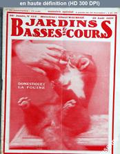 JARDINS ET BASSES COURS numéro 412 du 20 août 1931