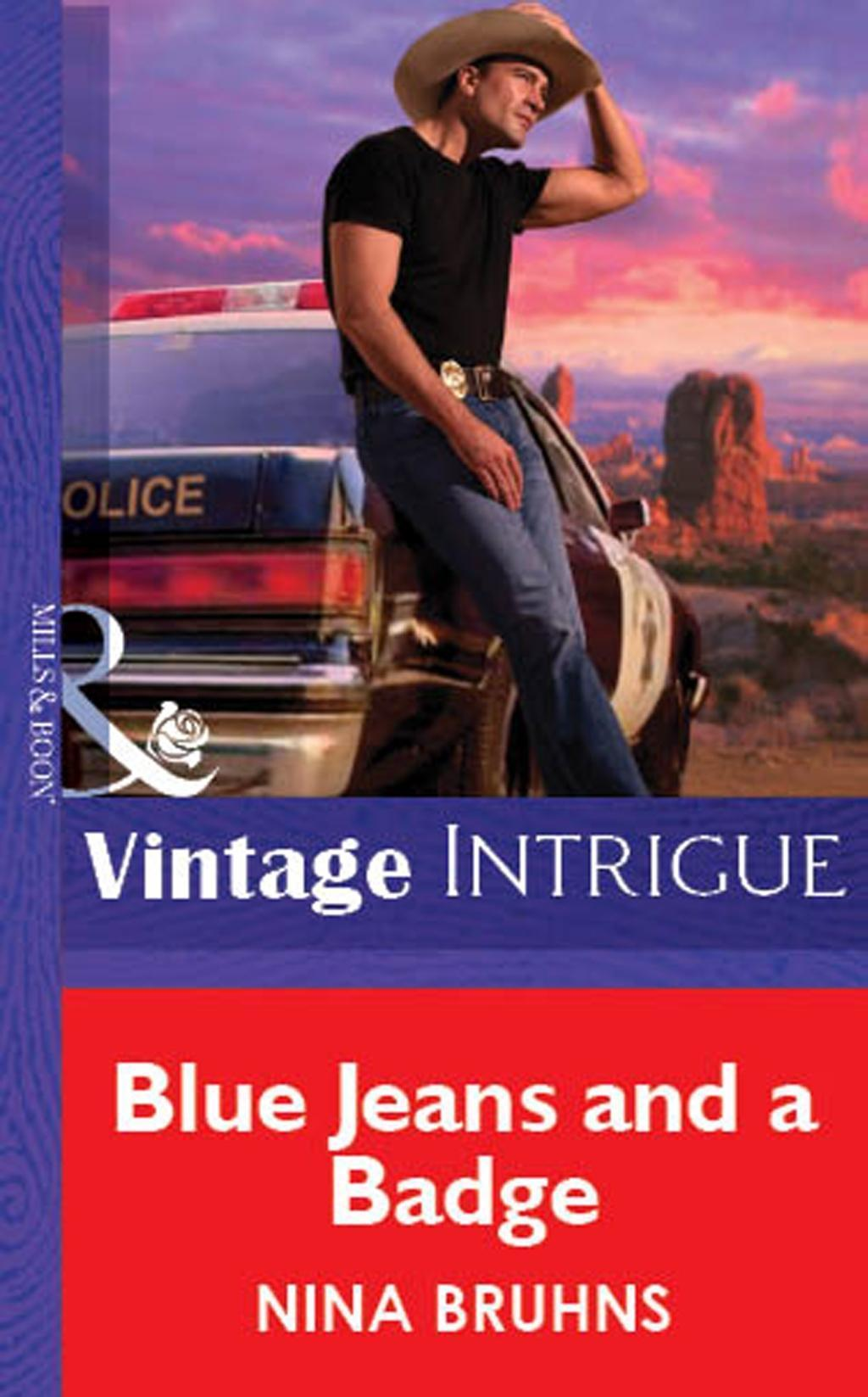 Blue Jeans And A Badge (Mills & Boon Vintage Intrigue)