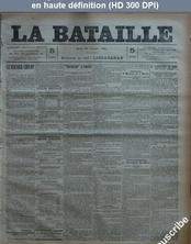 LA BATAILLE  numéro 772 du 24 février 1891