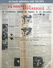 LA NOUVELLE REPUBLIQUE  numéro 658 du 15 octobre 1946