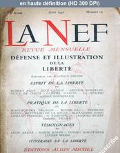 LA NEF  numéro 19 du 01 juin 1946