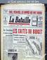 LA BATAILLE  numéro 257 du 24 novembre 1949