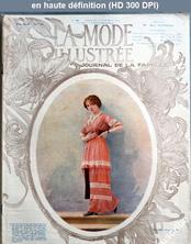 LA MODE ILLUSTREE  numéro 44 du 02 novembre 1913