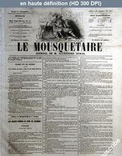 LE MOUSQUETAIRE  numéro 305 du 01 novembre 1855