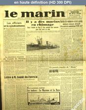 LE MARIN  numéro 51 du 21 mai 1948
