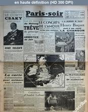 PARIS SOIR numéro 220 du 28 janvier 1941