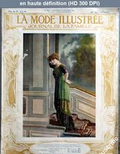 LA MODE ILLUSTREE  numéro 51 du 22 décembre 1912