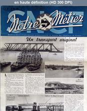 NOTRE METIER LA VIE DU RAIL numéro 61 du 31 mai 1946